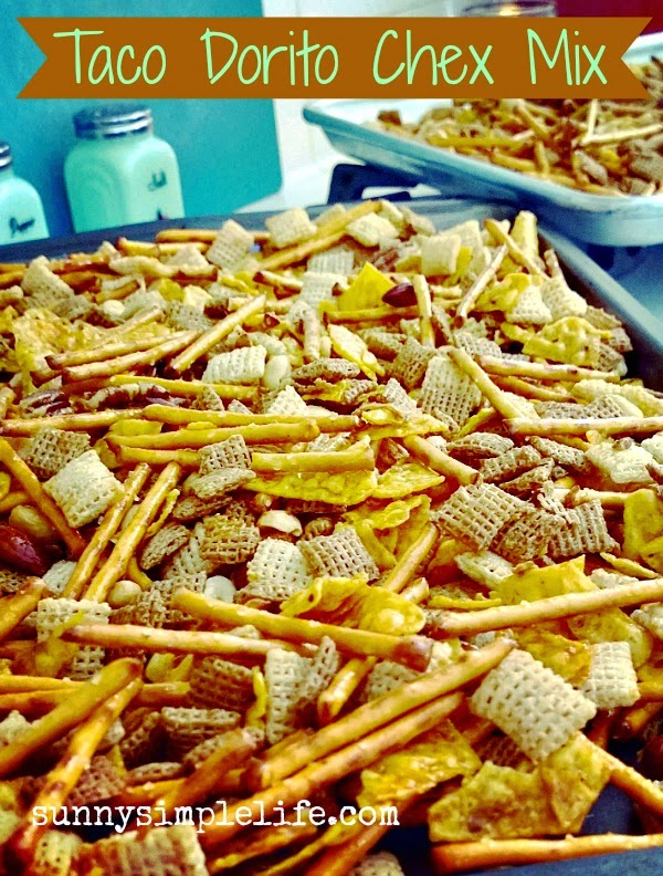 football snacks, Chex Mix