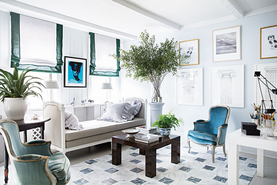 Artist hayley sarno s manhattan apartment makeover south - Living room makeovers before and after ...