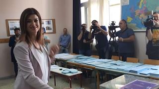 «Με το αριστερό» ψήφισε η Κατερίνα Νοτοπούλου
