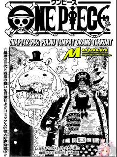 Update! Baca Manga One Piece Chapter 996 Full Sub Indo