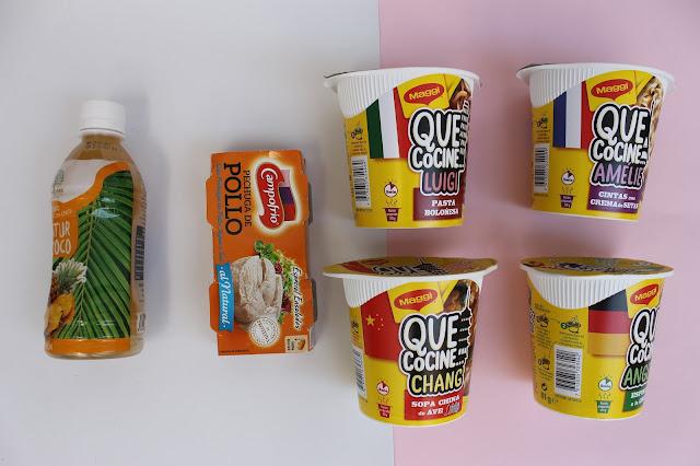 caja mensual comida degustabox en oferta