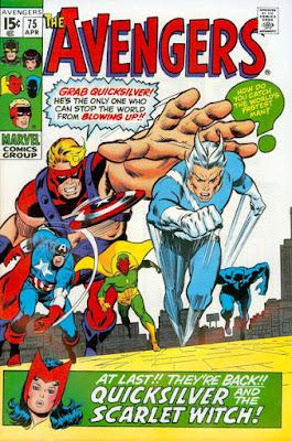 Avengers #75, Quicksilver