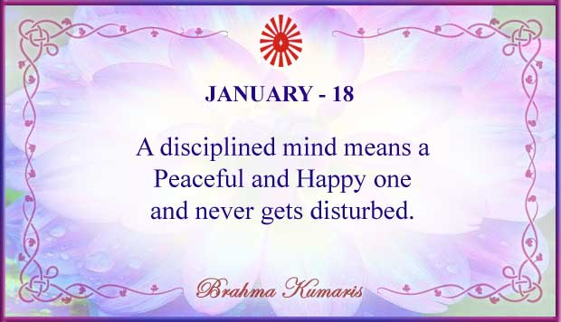 Thought For The Day January 18