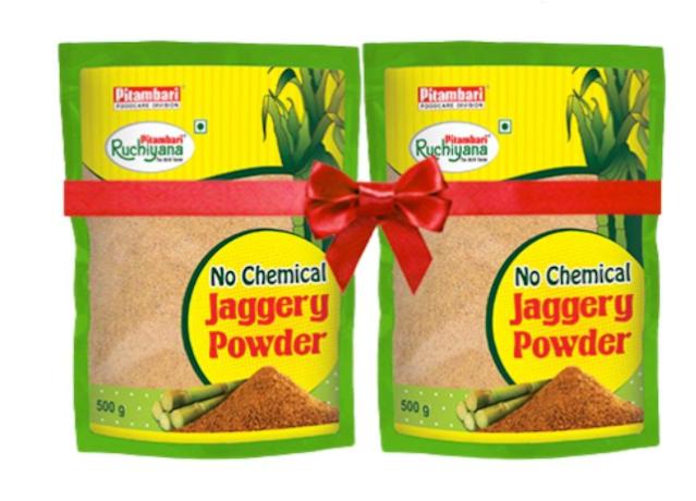 PITAMBARI Jaggery Powder 500gm - Pack of 2