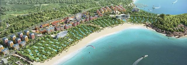 Thành phố nghỉ dưỡng Wonder City Vân Phong Bay.
