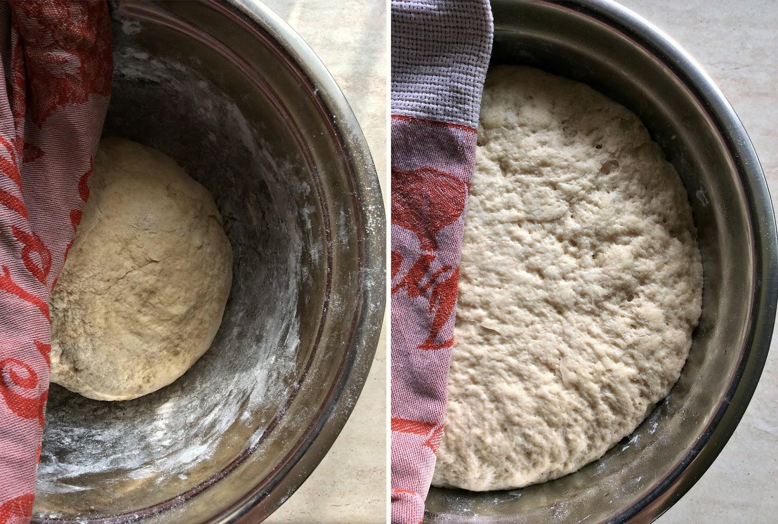 pane con farina di farro noci e miele di castagno