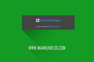 Cara Mudah Menghapus Tulisan Diberdayakan Oleh Blogger