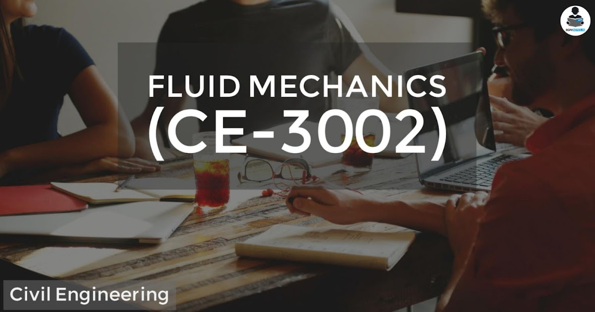 Fluid Mechanics (CE-3002) - rgpvnotes.in