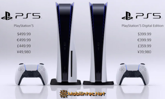 Release Price Of Playstation 5 Game Console
