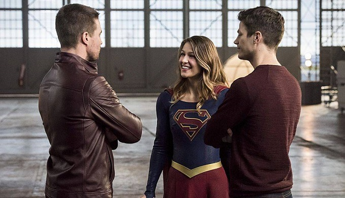 Arrow, Suergirl y Flash juntos por primera vez