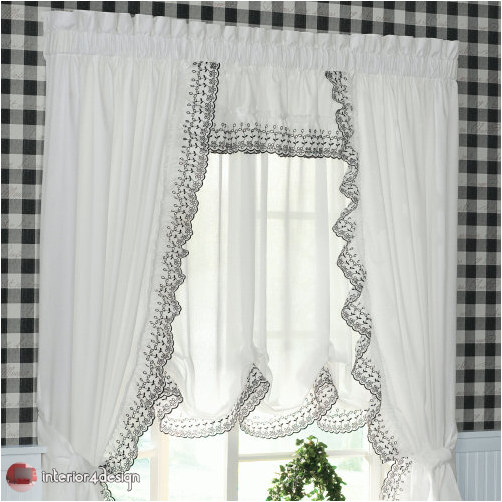 Elegant Kitchen Curtains 34