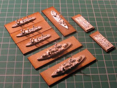 Italian Pre-Dreadnoughts Prepared