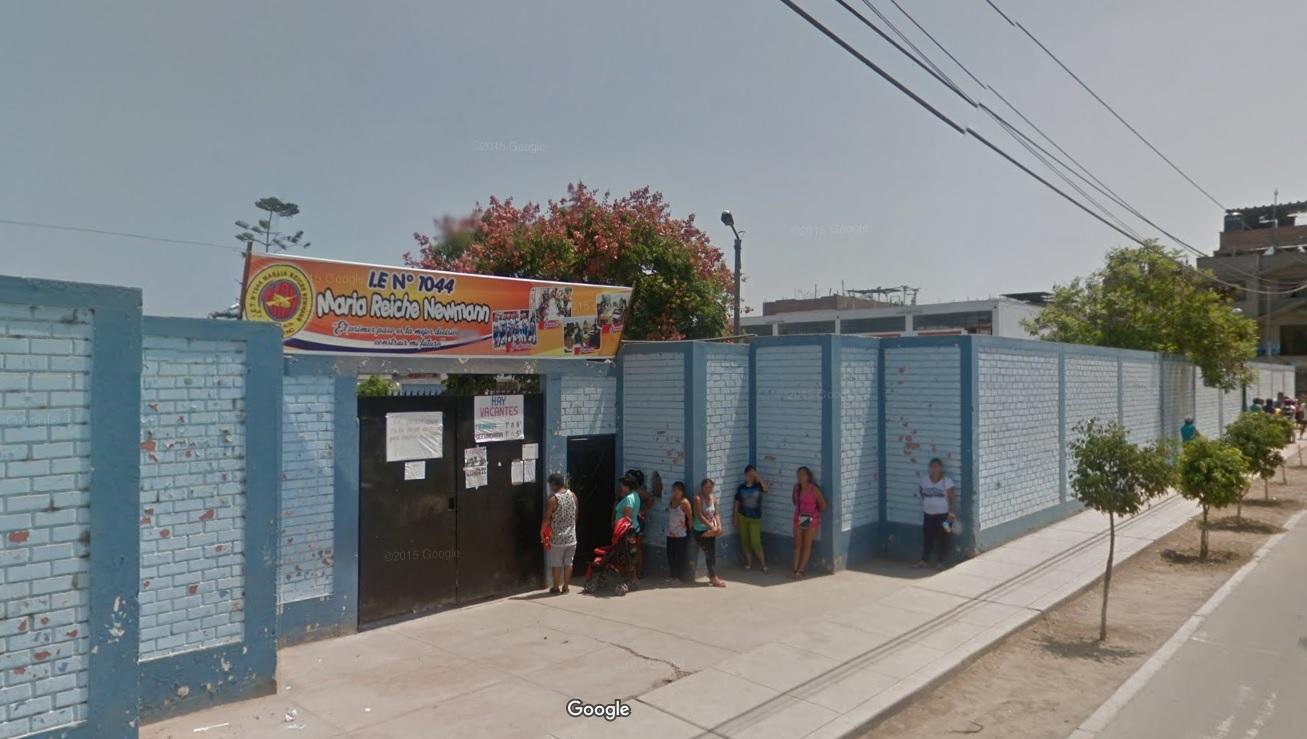 Colegio 1044 MARIA REICHE NEWMANN - El Agustino