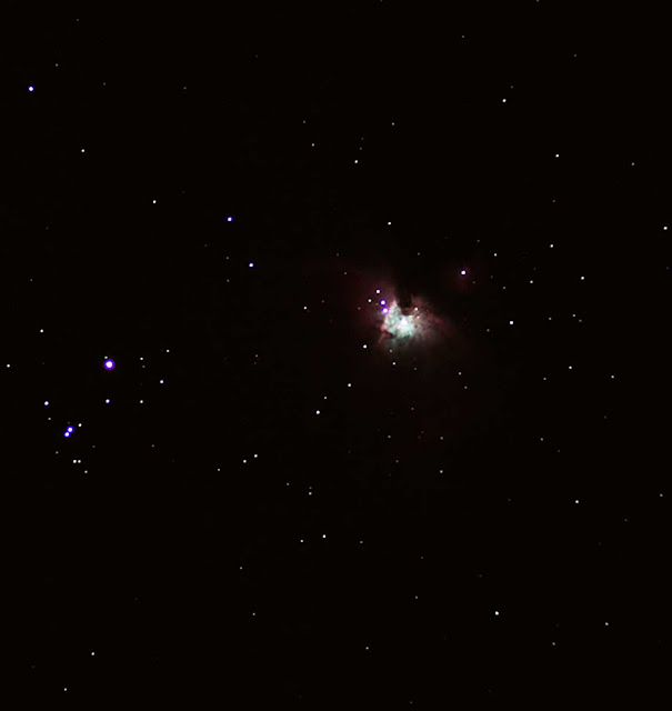 Palmia Observatory first light from new 80mm refractor