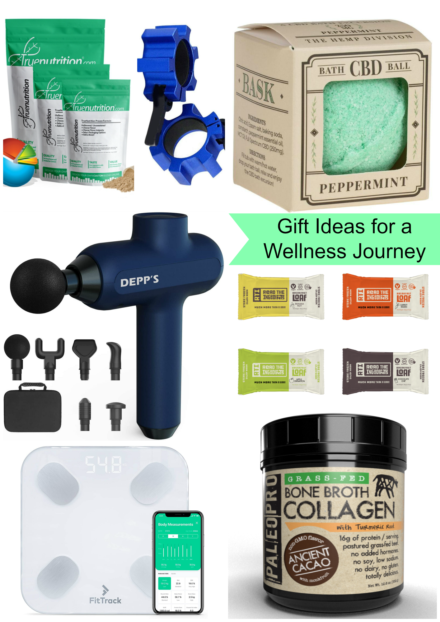 gift ideas for a wellness journey