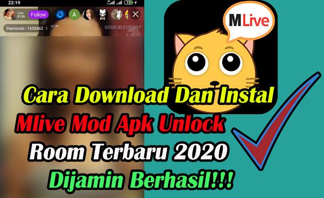 Mlive Mod Apk-Unlock Room-Terbaru-2021