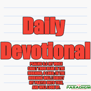 Today's Devotion |SAT| [CHRISTIAN IN THE WORK PLACE]