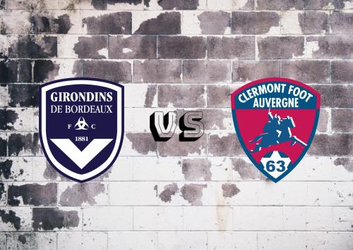 Girondins de Burdeos vs Clermont Foot  Resumen