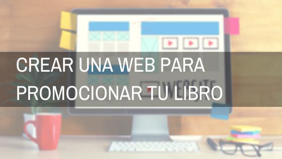 crear una web para promocionar tu libro