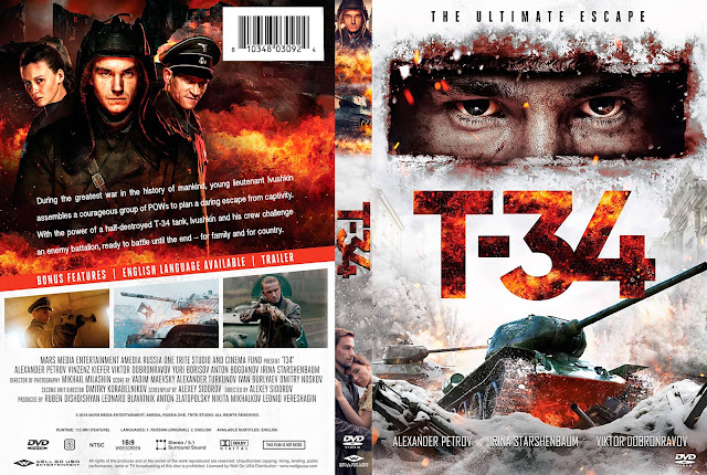T-34 DVD Cover