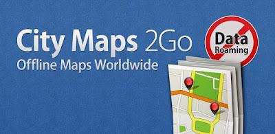 تطبيق City Maps 2Go Offline Maps خرائط بدون انترنت أوفلاين للأندرويد