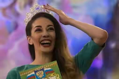 Drug dealer wins prison beauty pageant in Russia