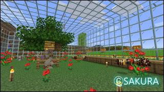 Minecraft ミツバチの飼育場
