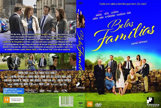 Capa DVD Belas Famílias