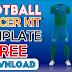 Football/Soccer Kit Template Free Download by M Qasim Ali