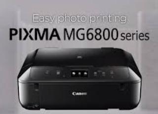 Canon PIXMA MG6800 Treiber & Software Herunterladen
