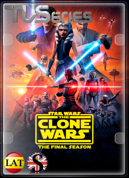 Star Wars: The Clone Wars (Temporada 7) HD 1080P LATINO/INGLES