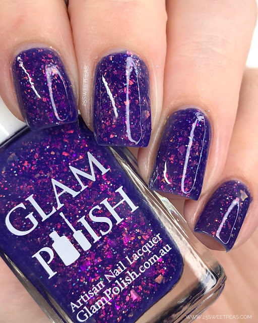 Glam Polish The Crystal of Truth 25 Sweetpeas