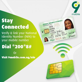 How to Link MY 9mobile Sim Card with NIN