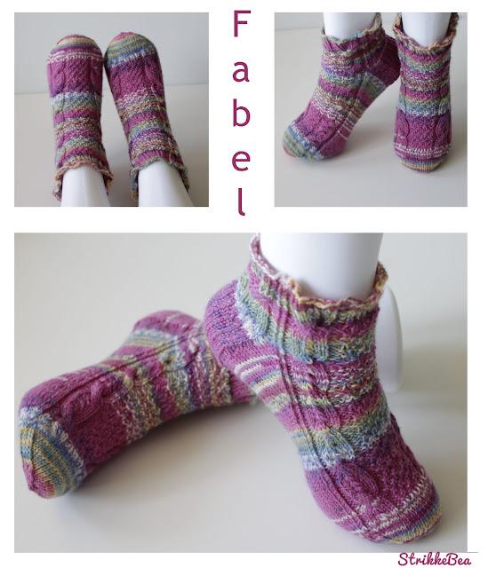 Vårilige - Søte frøken vinter sokker