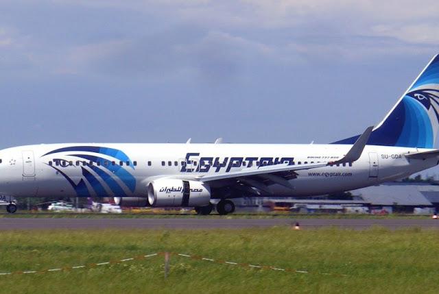 Pesawat EgyptAir Dibajak dan Dialihkan ke Siprus