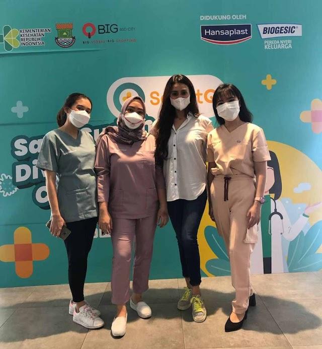 Rasa Prihatin, Klinik Gigi ODAC bersama QBIG BSD Gelar Vaksinasi dan Konsultasi Gigi Untuk 1000 Anak