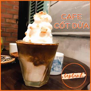 TỰ PHA CAFE CỐT DỪA NGON NHƯ CỘNG CÀPHÊ