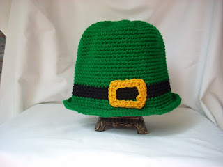 crochet Leprechaun hat
