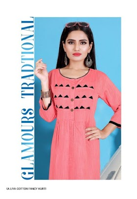 SITKA LIYA COTTON LATEST KURTI DESIGN