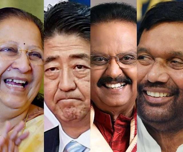 Padma Awardees 2021 LIST : पूर्व जापानी पीएम शिंजो आबे समेत सात को पद्म विभूषण, 10 को पद्म भूषण और 102 को पद्मश्री सम्मान