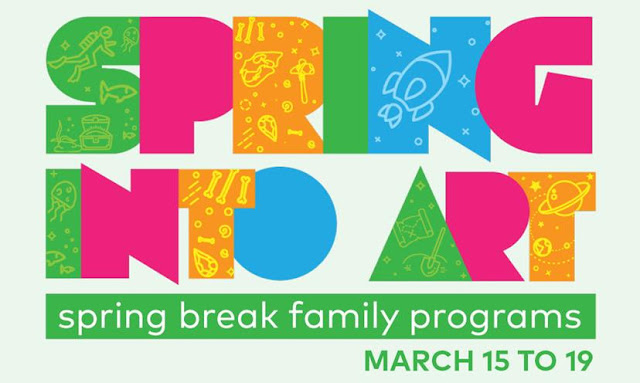 SPRING INTO ART! VANCOUVER ART GALLERY OFFERS FREE VIRTUAL SPRING BREAK FAMILY PROGRAMS MARCH 15-19