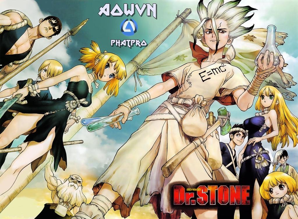 Dr. Stone - [ Anime Mp4   EP 3 ] Dr. Stone   Vietsub - Khôi Phục Thế Giới Bị Hóa Đá - Siêu Phẩm Tuyệt Hay