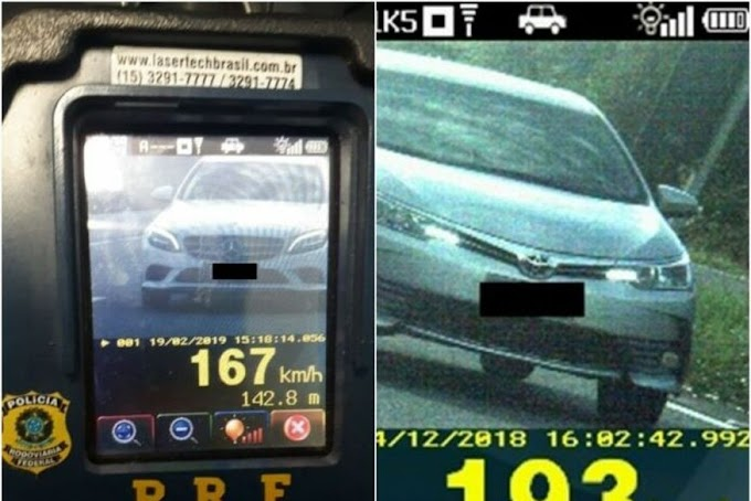 EXCESSO: Fiscalização com radares móveis começa nesta quinta-feira após aumento de 19% em multas nas rodovias da PB.