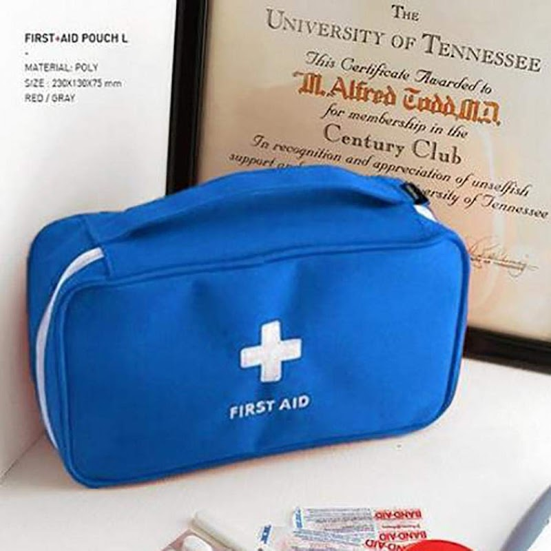 80% off Compact First Aid Bag Emergency Care Case Home Travel First Aid Kits