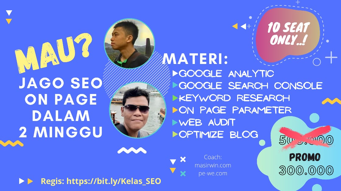 kursus seo on page