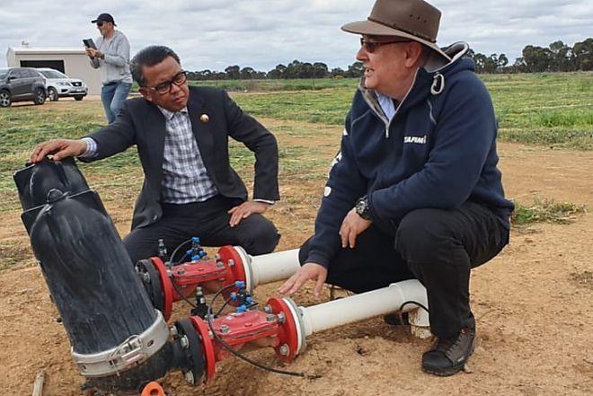 Belajar Manajemen Air di Australia, Nurdin Abdullah Bakal Pakai Pipa Ber-GPS di Sulsel
