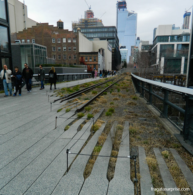 Parque High Line, em Nova York