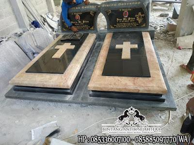 Gambar Makam Kristen Modern, Contoh Kuburan Kristen, Desain Kuburan Kristen