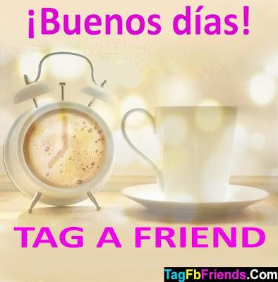 Good morning in Spanish language