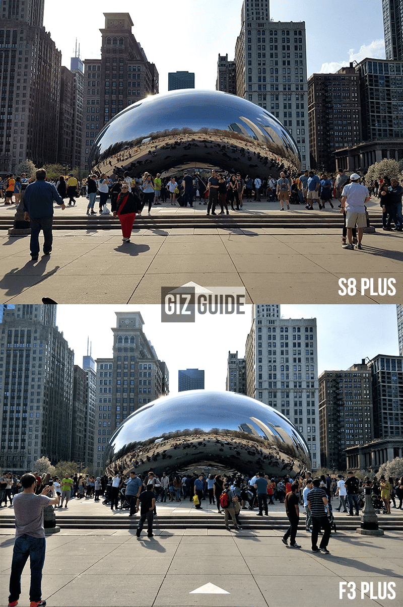 is ane of the best flagship phones today field the  Samsung Milky Way S8+ Vs Oppo F3 Plus Main Camera Comparison
